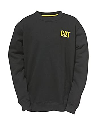 CAT Trademark Crew Sweatshirt Black S