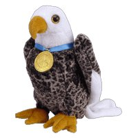TY Beanie Baby - VALOR the Eagle (Internet Exclusive)