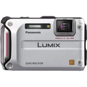 Panasonic Lumix DMC-TS4 12.1 Megapixel Compact Camera - Silver (DMC-TS4S) -