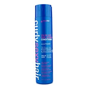 Sexy Hair Curly Sexy Hair Color Safe Curl Defining Conditioner, 10.1 Fluid Ounce