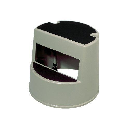 Mobile Two-Step Stepstool (Beige) 350-lb Max (Plastic)