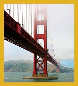 Gift Trenz Golden Gate Bridge In Fog Magnetic Bookmark
