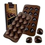 HitPlay Silicon Chocolate Moulds - Shell