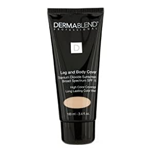 Dermablend Leg and Body Cover Make-Up SPF 15, Natural, 3.4 Ounce