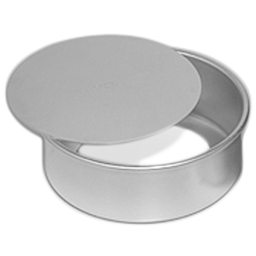 Ateco Round Cake Pan with Removable Bottom, 8 by 3-Inch