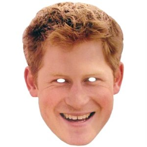 Mka Celebrity Masks - Prince Harry