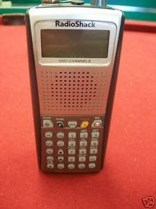 Radio Shack Pro 97 Triple-Trunking Handheld Scanner