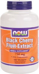 NOW Black Cherry Fruit Extract (180 caps)