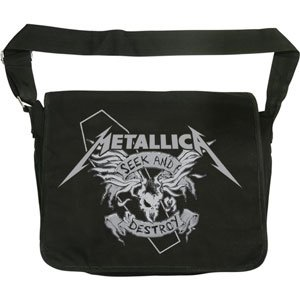 Messenger Bags Discount  Metallica - Back Packs - Messenger Bag Style 0a9eeda8c2f75