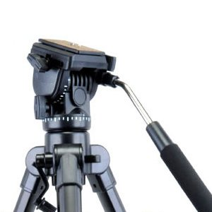 Video Action Fluid Drag Head Hydraulic Damping Tripod Ball Head Ballhead for Canon 5D,7D,70D,650D,700D, Nikon D90 D7100 D5200 D3200 D800,Panasonic GH6, Gh6, GF6 Pentax Olympus Fuji DSLR & Camcorders