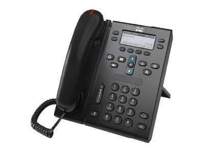 Cisco Unified Ip Phone 6941 Slimline - Voip Phone - Sccp - Multiline - Charcoal