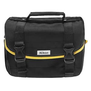 Nikon Starter Digital SLR Camera Case - Gadget Bag for D7000, D5000, D3100, D3000, D60, & D40