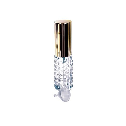 1 Mini Crystal Purse Travel Atomizer W/funnel-Assorted Styles (Small Spray Bottle Glass Funnel compare prices)