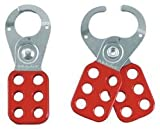 MASTER - 420 - RED SAFETY HASP 2.71CM DIA. JAWS