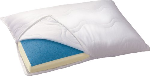 Serta Reversible Gel-Memory Foam Classic Pillow