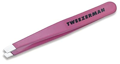 Tweezerman Flamingo Pink Mini Slant Tweezer