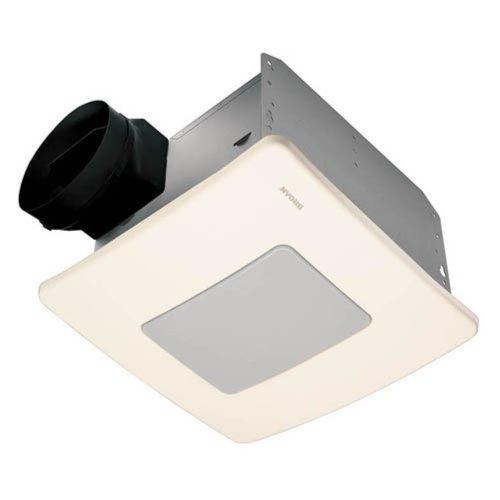 Broan-Nutone QTXE110FLT Ultra Silent Bathroom Fan / Light / Night-Light - ENERGY STAR