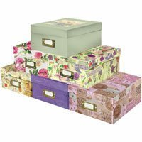 Pioneer Photo/Video Storage Box, Assorted Colors