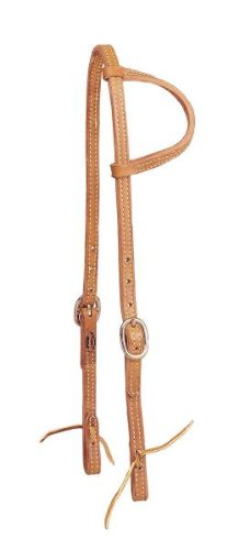 Tory Harness Leather Ds Tie End One Ear Headstall