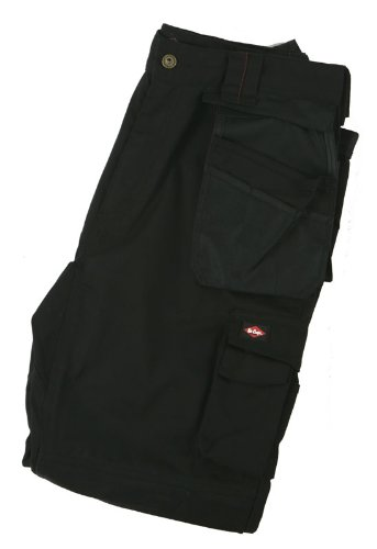 """Lee Cooper Workwear, Pantaloni corti da lavoro, colore: Nero, taglia 32"""", LCPNT210"""