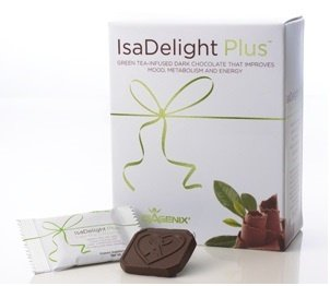 Isadelight Plus Dark Chocolate 12 Oz, Specially Formulated With Green Tea Extract, Amino Acids, Antioxidants, B Vitamins And Minerals To Help Ease Those Hunger And Sugar Cravings.