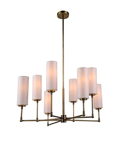 Urban Lights Richmond 8-Light Pendant Lamp, Antique Bronze