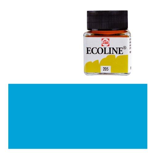 Ecoline-fluessige wasserfarbe - 30 ml-ciel bleu cyan