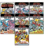 Ricky Ricotta's Mighty Robot Vs. Set, Books 1-7 (Ricky Ricotta's Mighty Robot, The Mutant Mosquitoes from Mercury, The Voodoo Vultures from Venus, The Mecha-Monkeys from Mars, The Jurassic Jackrabbits from Jupiter, The Stupid Stinkbugs from Saturn,... (0439025176) by Dav Pilkey