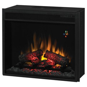 Best Price Classicflame 23 Fixed Glass Electric Fireplace Insert 23ef022gra Best Buy