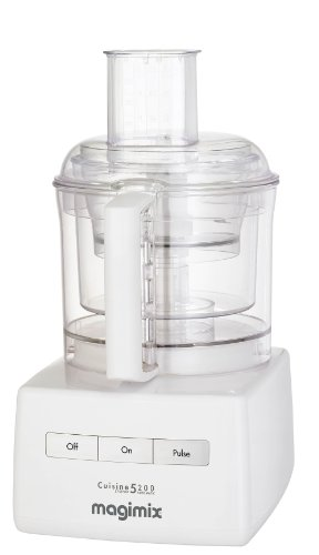 Magimix 18526 5200 Food Processor, White