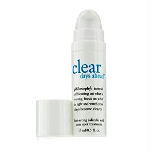 Philosophy Clear Days Ahead Fast-Acting Salicylic Acid Acne Spot Treatment, 0.5 Ounce brought to you by Philosophy