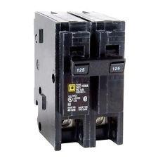 Hom2125 Squard D Homeline 125 Amp 2-Pole Circuit Breaker