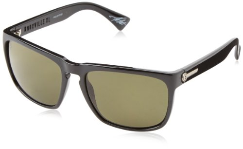 Electric Knoxville Xl Wayfarer Polarized Sunglasses,Gloss Black,164 Mm