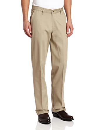 Wrangler Men's Riata Flat-Front Relaxed-Fit Casual Pant at