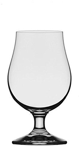 6bicchieri da birra birra tulipani birra tulipano boccale da birra vetro bicchieri tulipano, Vetro, Senza indicatore di riempimento, 390 ml