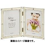 Amazon.co.jpラドンナ ブライダルフレーム ポストカード判 折りたたみ式 ホワイト MJ62-PD-WH