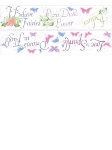 Wallpaper York Disney Disney Fairies Phrases Appliqu Rmk1515Scsdk