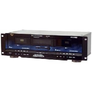 "Pyle Audio, Inc - Pyle Pylepro Pt649d Dual Cassette Deck ""Product Category: Audio Electronics/Cassette Players/Recorders"""
