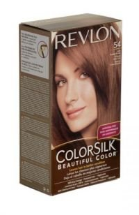 Revlon Colour Silk Hair Colourant 54 Light Golden Brown x 3