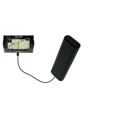 Caricabatterie AA di emergenza portatile compatibile con Mio Knight Rider con tecnologia TipExchange