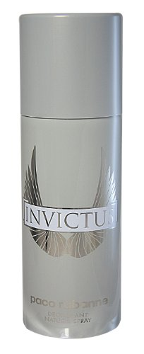 Paco Rabanne Invictus Deodorant Spray for Men, 5 Ounce