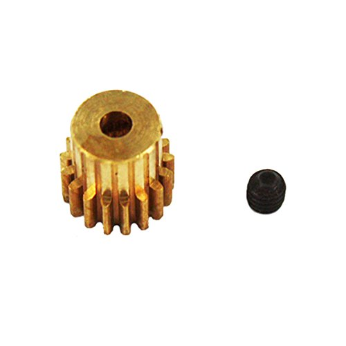 Redcat Racing 17T/.6 Module Brass Pinion Gear