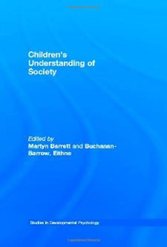Children'S Understanding Of Society (Studies In Developmental Psychology) front-18424