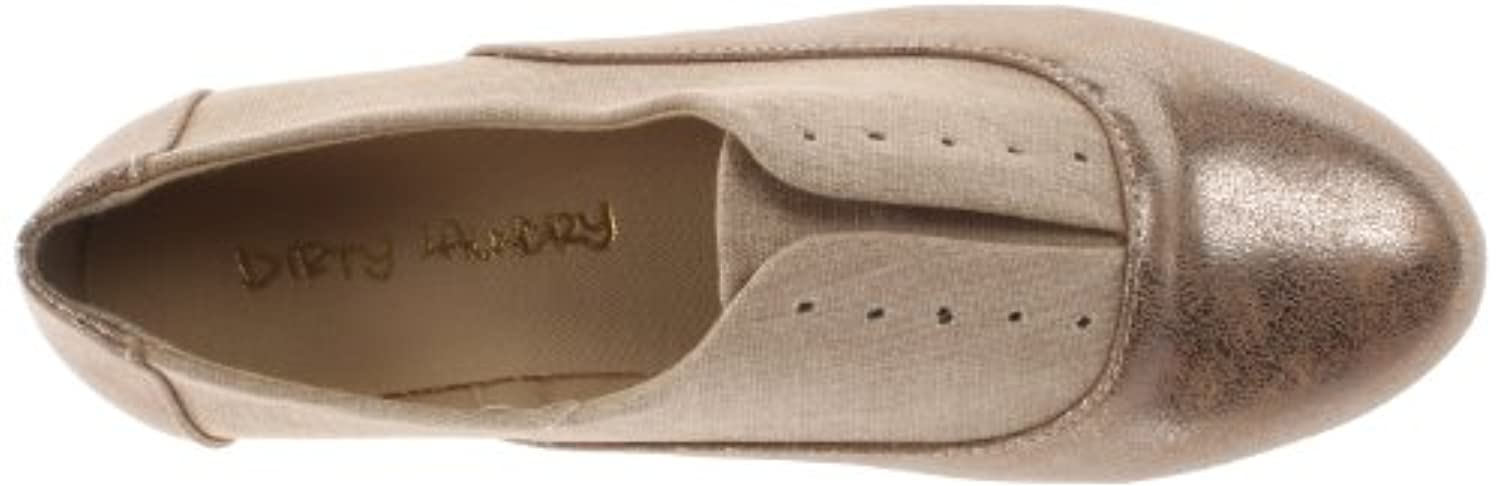 Dirty Laundry Women's Off The Wall Synthetic Boat Shoe,Tan/Champagne,6.5 M US