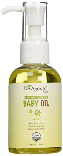 B2Organic USDA Certified Organic Tender Times Baby Oil, 4 Fluid Ounce - 1