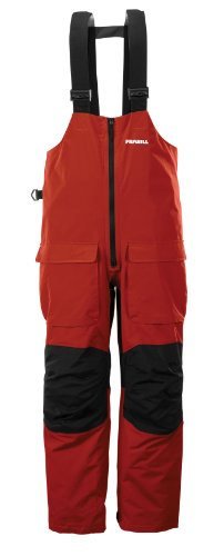 Frabill F2 Surge Rainsuit Bib, Large, Red (Ice Fishing Bibs compare prices)
