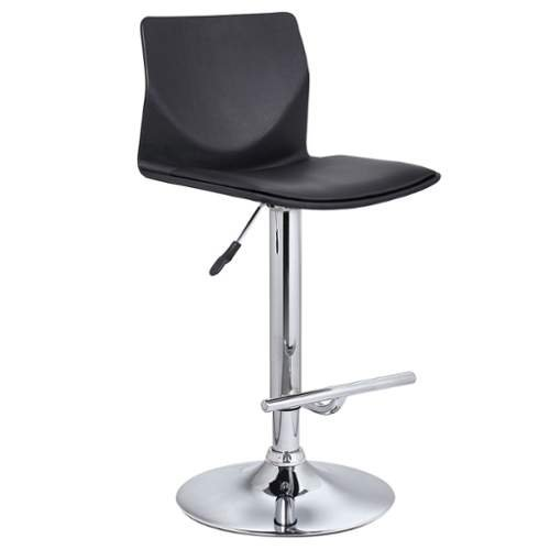 Bromi Design Washington Adjustable Height Swivel Bar Stool BF2610BL