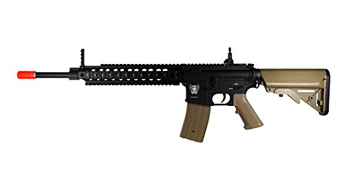 S2S SDTS002TN Tin Star USA Series Tactical M4 AEG Assault Airsoft Rifle, Tan