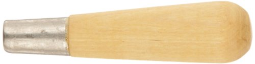 Nicholson Metal Ferruled Wooden File Handle, Size 4, 3-3/4