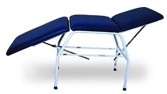 """3B Scientific W15051B Black Carbon Steel Bi-Lateral Adjustment Treatment Table, 71.5"""" Length x 25.5"""" Width x 32.5"""" Height"""